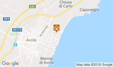 Map Noto Villa 116290
