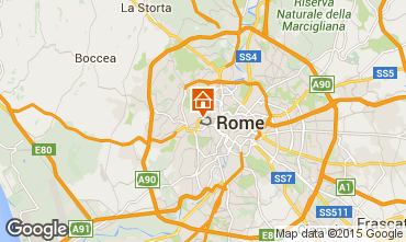 Map Rome Apartment 68970