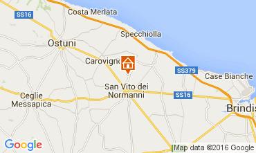 Map Ostuni Villa 104301