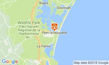 Map Port La Nouvelle Apartment 115682