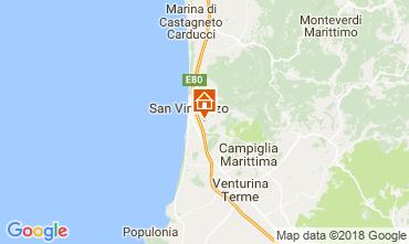 Map San Vincenzo Apartment 113868