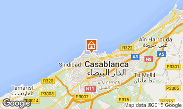 Map Casablanca Apartment 69203