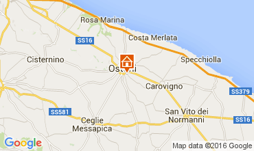 Map Ostuni Apartment 82864