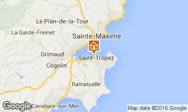 Map Saint Tropez Apartment 93969