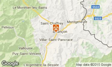 Map Briançon One-room apartment 82889