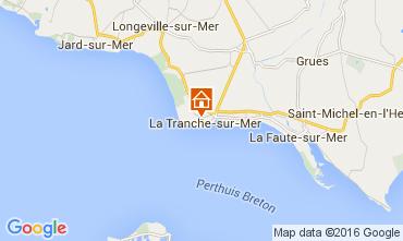 Map La Tranche Apartment 7102