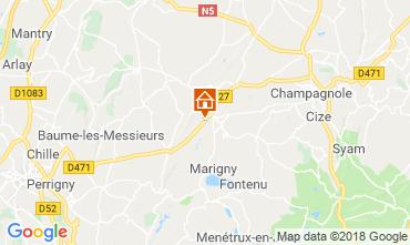 Map Champagnole Chalet 117172