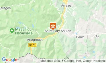 Map Saint Lary Soulan Apartment 116962