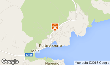 Map Porto Azzurro Apartment 95896