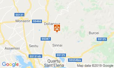 Map Quartu Sant'Elena Villa 108795