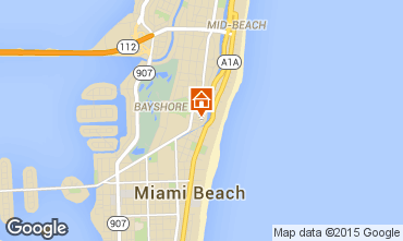 Map South Beach One-room apartment 5333