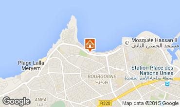 Map Casablanca Apartment 73511