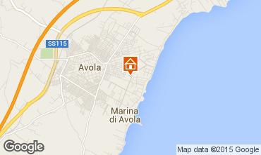 Map Avola One-room apartment 99107