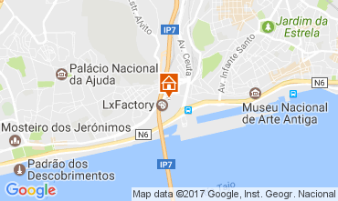 Map Lisbon House 52187