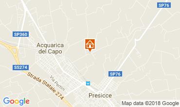 Map Presicce Villa 115552