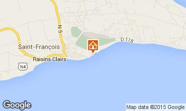 Map Saint Francois Apartment 68788