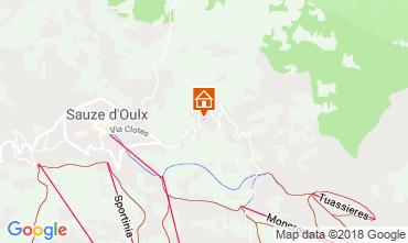 Map Sauze d'Oulx Apartment 108426