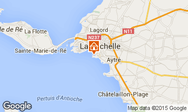 Map La Rochelle Apartment 82834