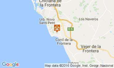 Map Conil de la Frontera Chalet 103983
