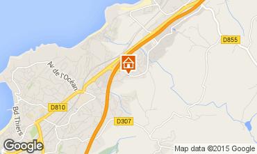 Map Saint Jean de Luz Apartment 97030