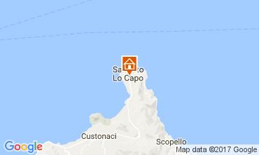 Map San Vito lo Capo Apartment 75045