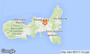 Map Portoferraio Apartment 68658