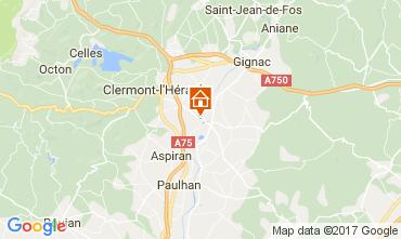 Map Clermont l'Hérault Villa 108631