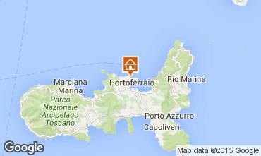 Map Portoferraio Apartment 46019