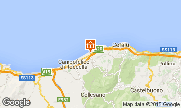 Map Cefalù Apartment 85238