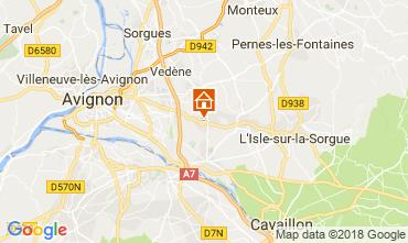 Map Avignon House 114143