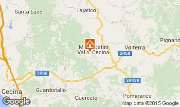Map Volterra Apartment 15494