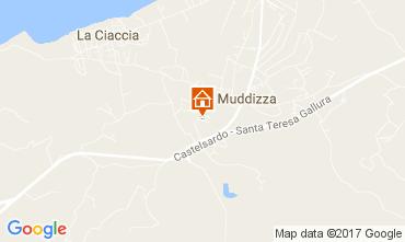 Map Valledoria Apartment 54259