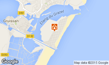 Map Gruissan Apartment 6269