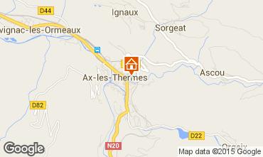 Map Ax Les Thermes Apartment 68250