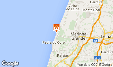 Map São Pedro de Moel House 85021