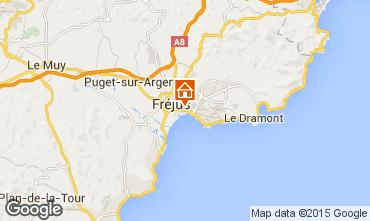 Map Fréjus One-room apartment 93455