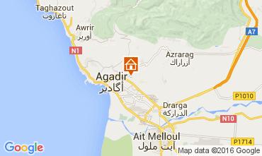 Map Agadir Apartment 92479