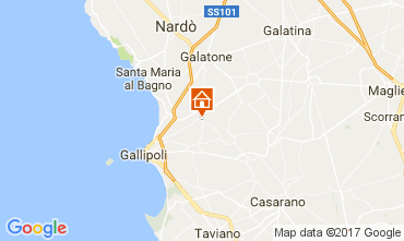 Map Gallipoli One-room apartment 99795