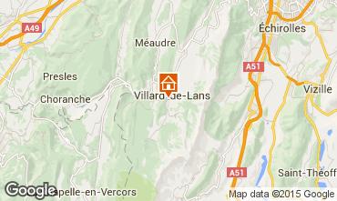 Map Villard de Lans - Corrençon en Vercors Villa 101987
