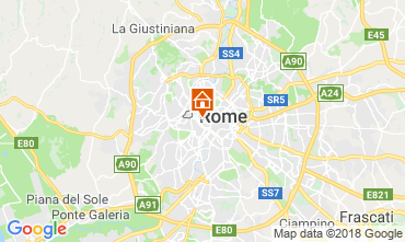 Map Rome Apartment 116748