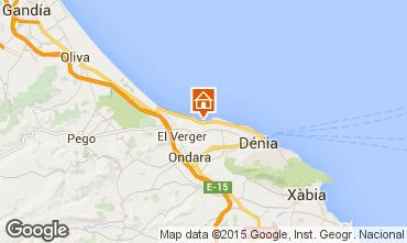 Map Denia Apartment 9697