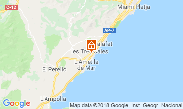 Map La Ametlla de Mar Villa 108717