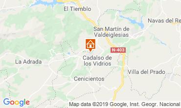 Map Móstoles Villa 117755