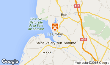 Map Le Crotoy House 79874