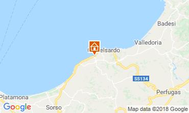 Map Castelsardo Apartment 116220