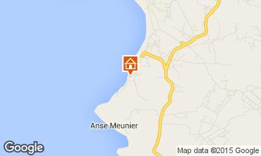 Map Sainte Anne (Martinique) One-room apartment 97684