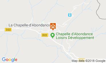 Map La Chapelle d'Abondance Apartment 117457