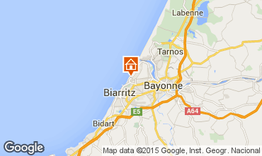 Map Anglet Apartment 85087