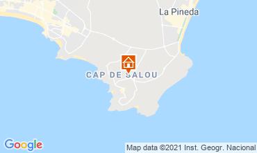 Map Salou Apartment 93563