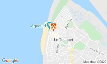 Map Le Touquet Apartment 7771